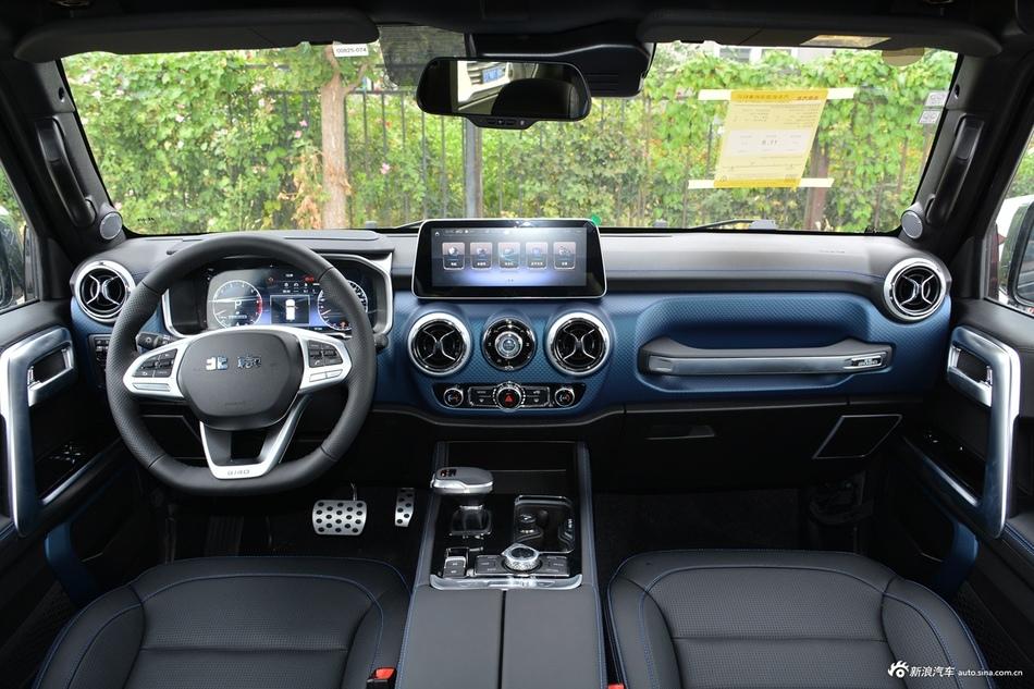 2020款北京BJ40 2.0T自动四驱致敬2020版至尊型