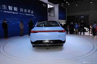 2021上海车展实拍:小鹏汽车P5