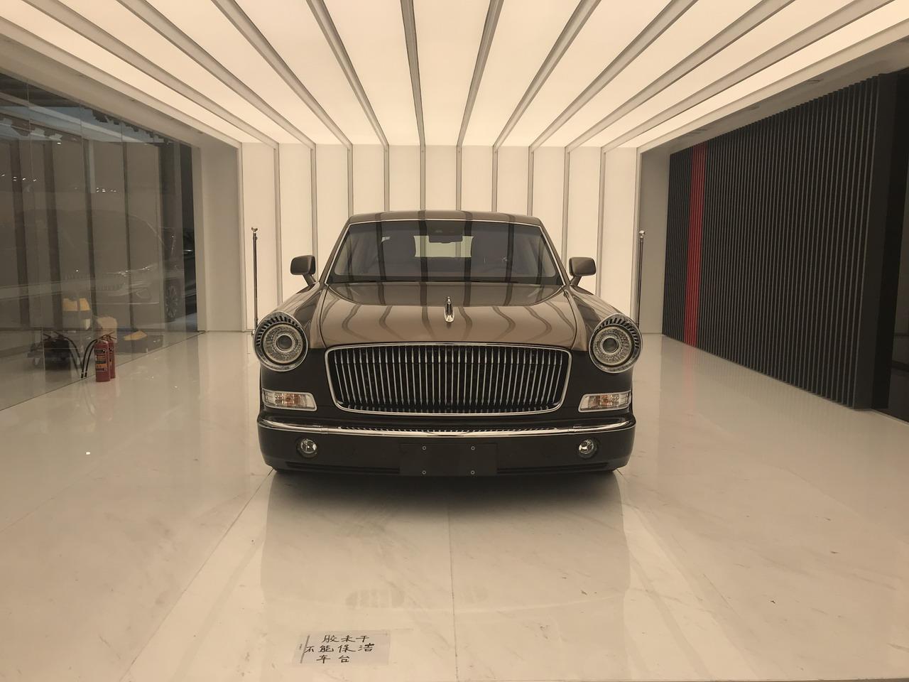 2019上海车展实拍:红旗L5