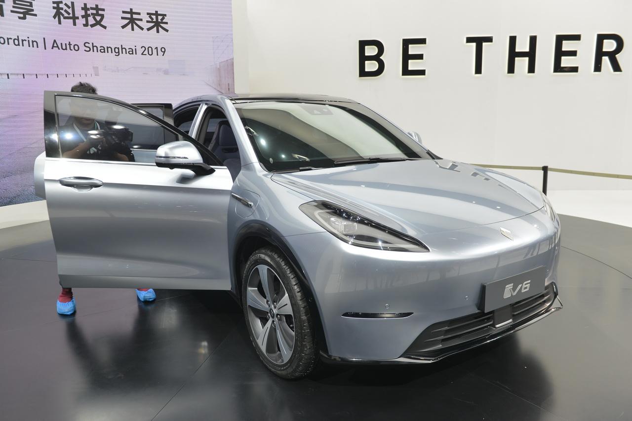 2019上海车展实拍:博郡iV6新能源