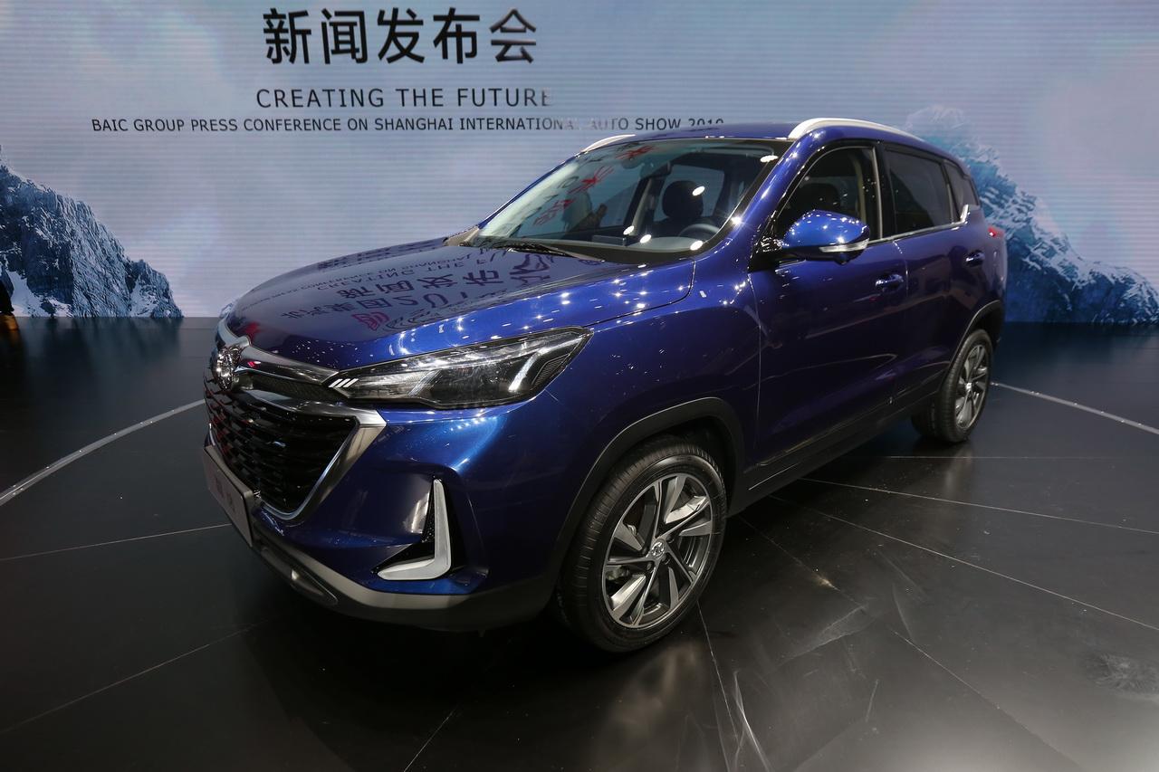 2019上海车展实拍:北汽绅宝智达