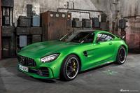 罕见的曼巴金属绿版 梅赛德斯AMG GTR