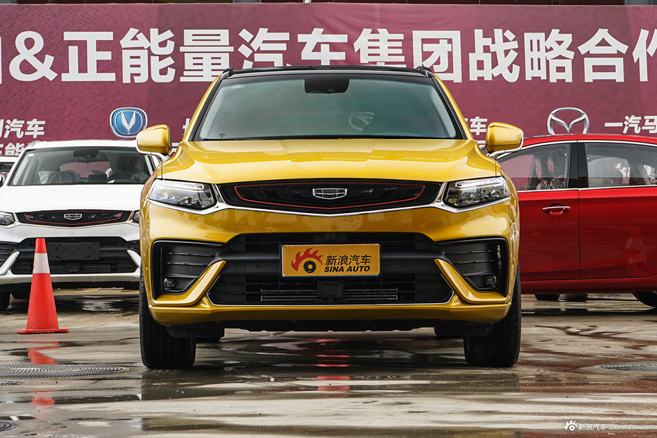 吉利汽车吉利星越广州9.6折起  新车选它不会错