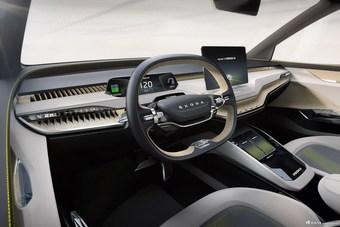 2019款斯柯达VISION iV纯电动概念车