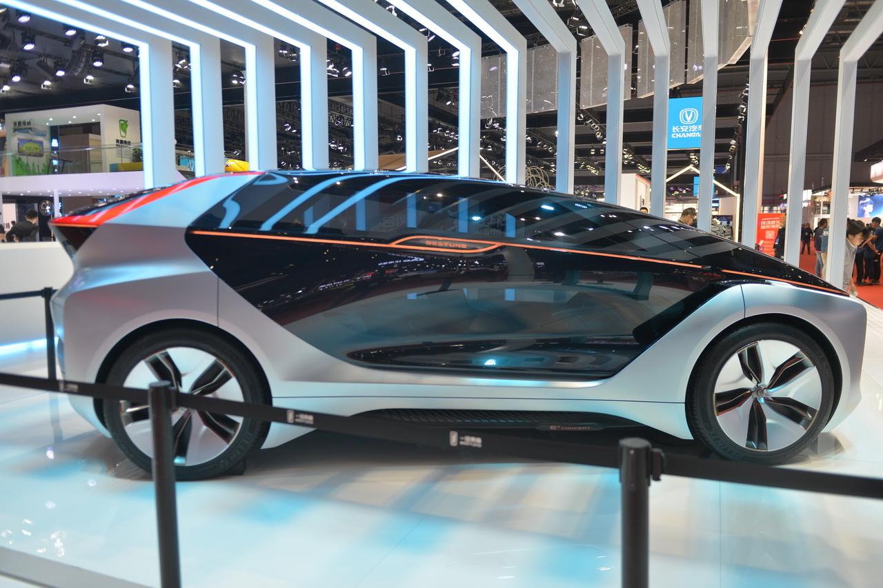 2019上海车展实拍:奔腾E2 Concept
