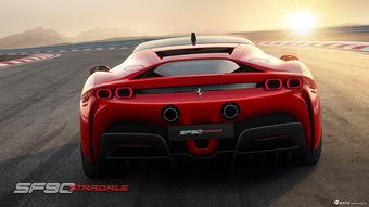 赛道野兽,首款插电超跑,Ferrari SF90 Stradale