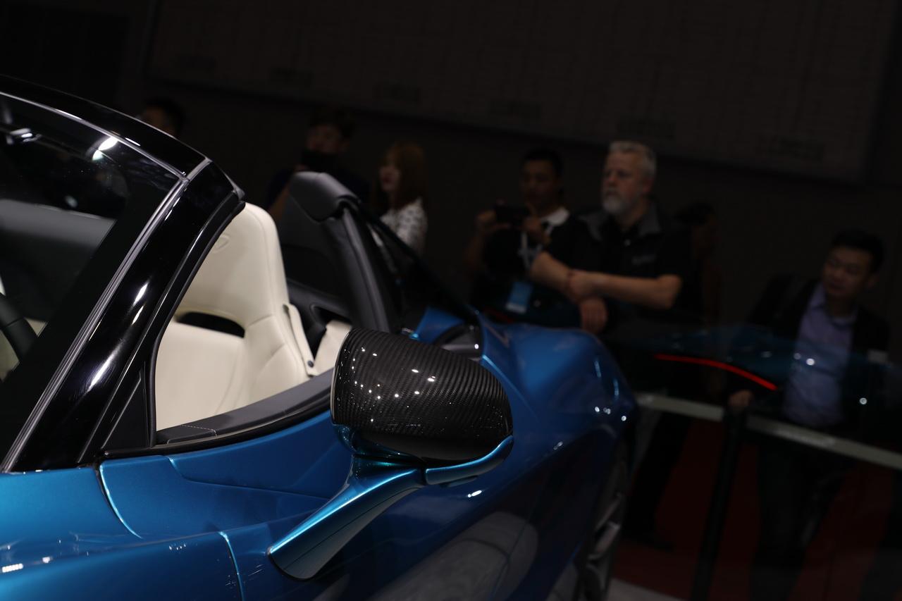 2019上海车展实拍:迈凯伦720S Spider