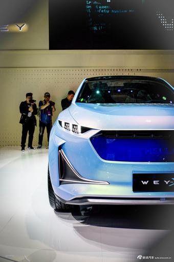 2019上海车展实拍:WEY-X