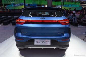 2019上海车展实拍:威马EX5 pro