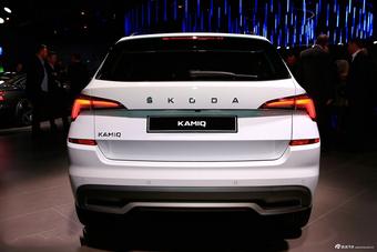日内瓦车展:抢先实拍斯柯达全新KAMIQ