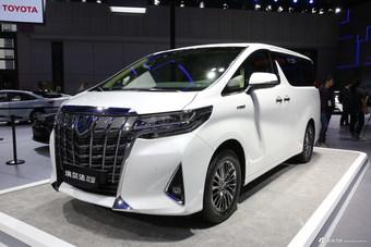 2019上海车展实拍:埃尔法新能源