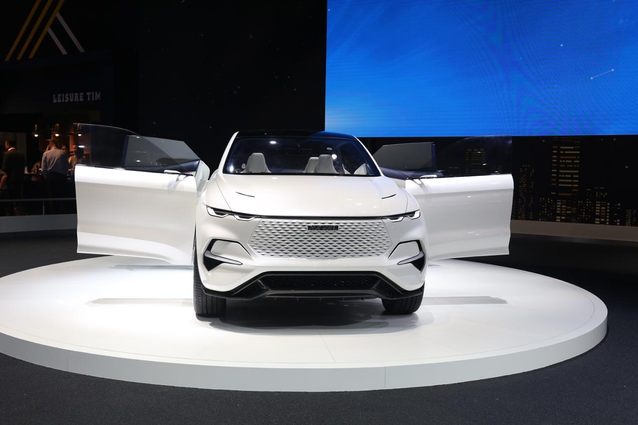 2019上海车展实拍:哈弗VISION 2025概念车