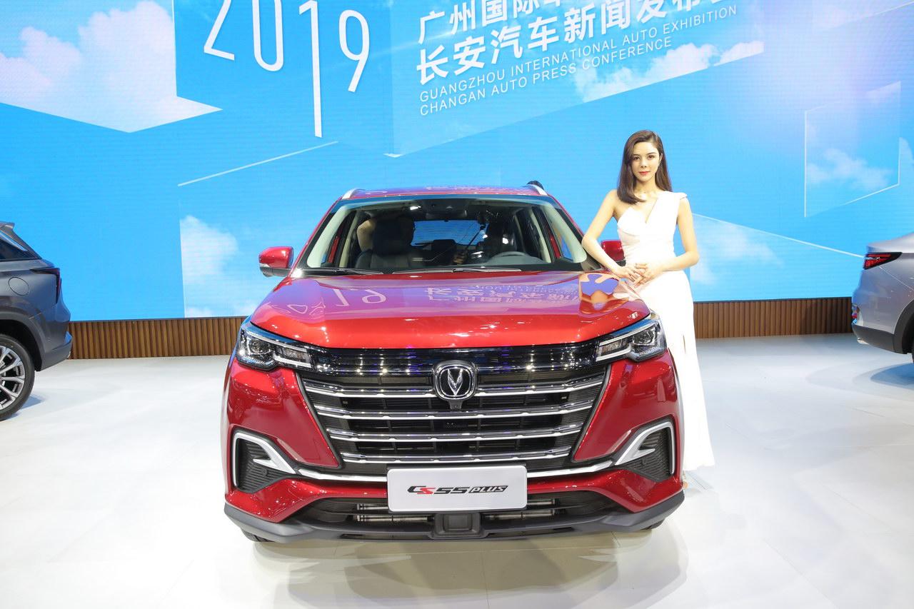 2019广州车展实拍:长安CS55 PLUS
