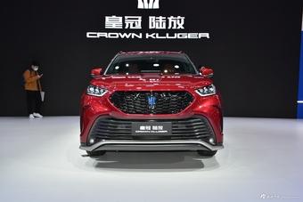 2021上海车展实拍:皇冠路放CROWN KLUGER