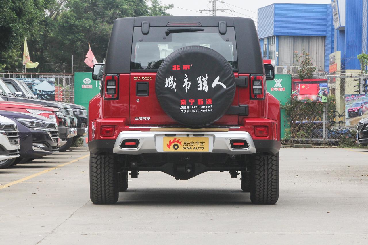 2019款北京BJ40 2.0T自动四驱城市猎人版尊享型