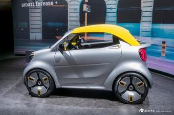 日内瓦车展:实拍Smart Forease+概念车