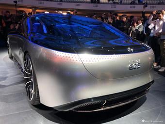全新纯电动概念车 奔驰VISION EQS