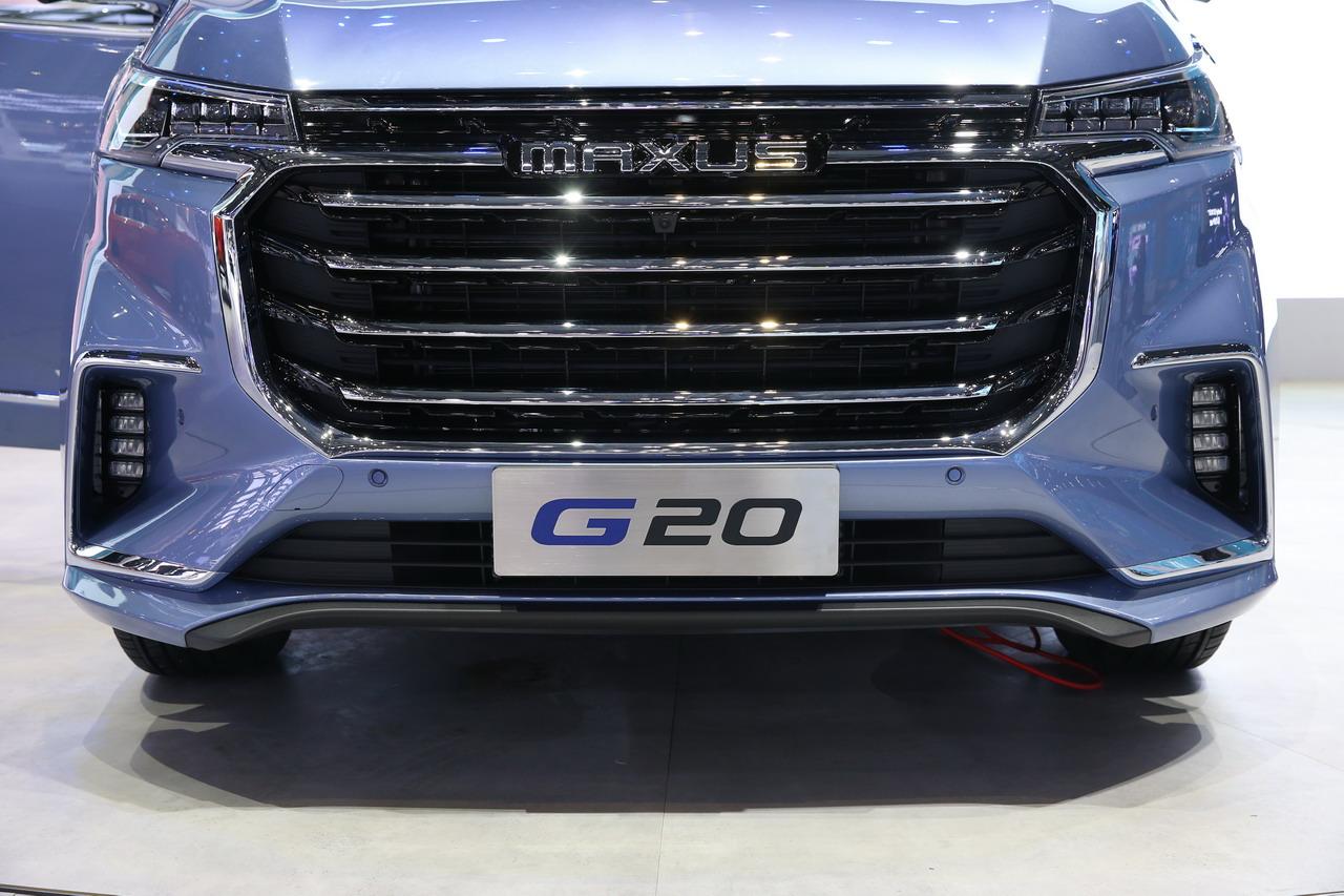 2019上海车展实拍:上汽MAXUS G20