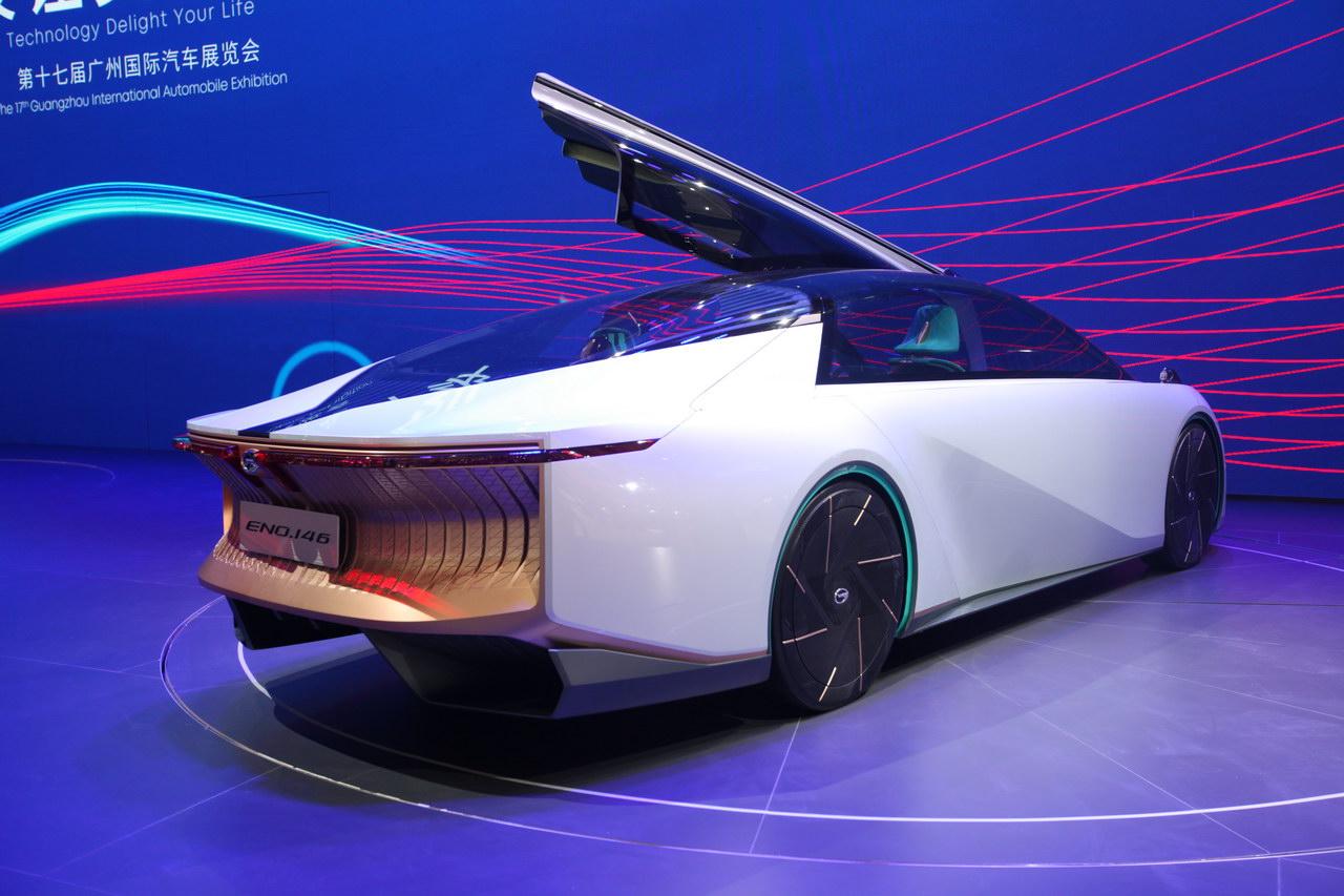2019广州车展实拍:广汽ENO.146概念车