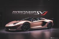 日内瓦车展:实拍Aventador SVJ敞篷版