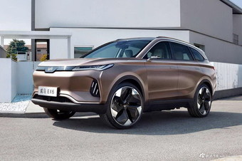 2018款威马EX6新能源概念车