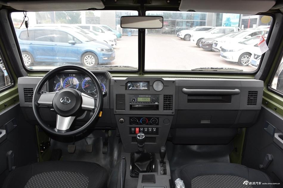 2018款勇士 2.5T手动四驱柴油版五门国V