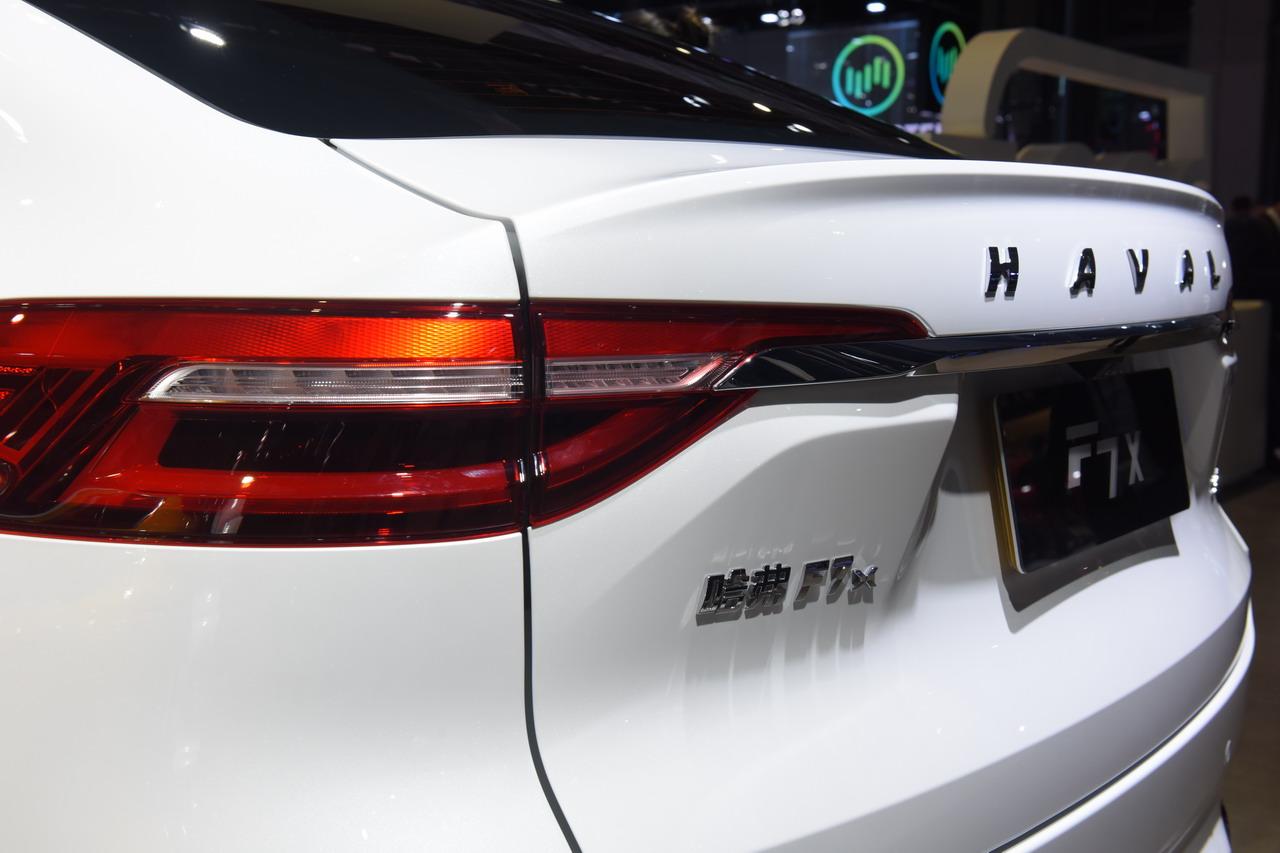 2019上海车展实拍:哈弗F7x