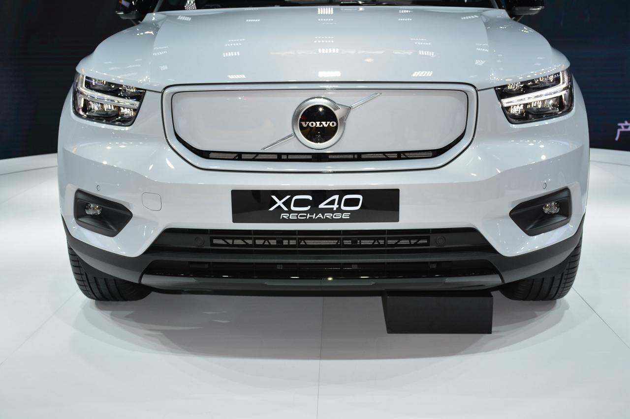 2020北京车展实拍:沃尔沃XC40电动