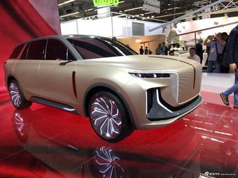 红旗纯电动SUV概念车 法兰克福车展首发亮相