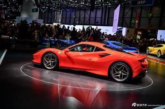 日内瓦车展:实拍法拉利全新超跑F8 Tributo