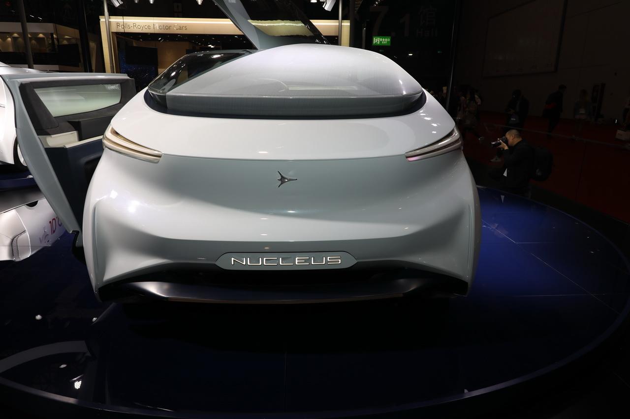 2019上海车展实拍:Nucleus