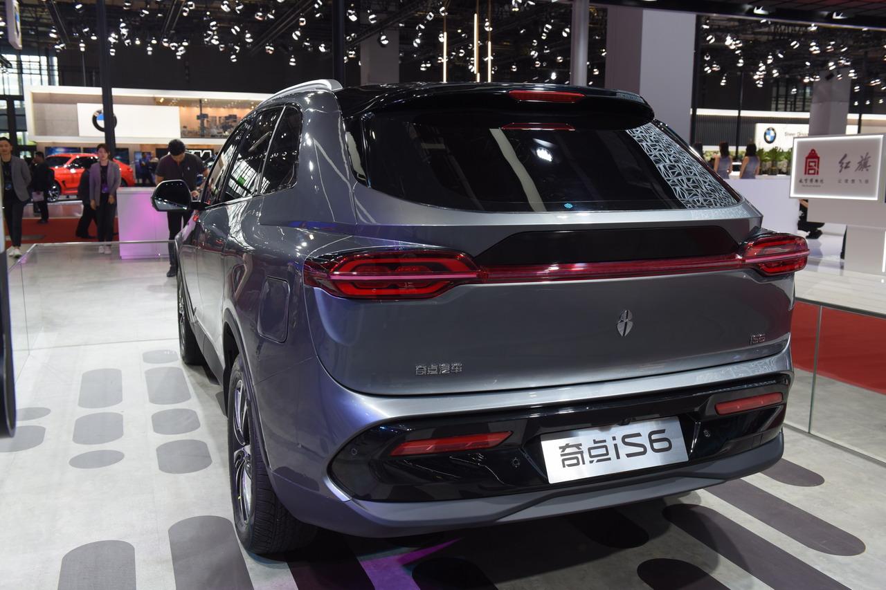 2019上海车展实拍:奇点iS6
