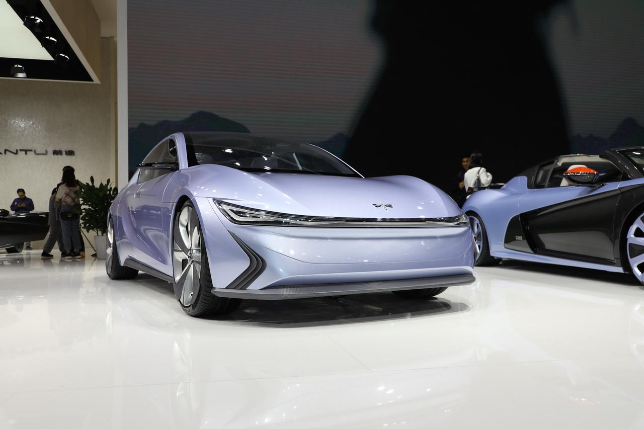 2019上海车展实拍:前途K25 concept新能源