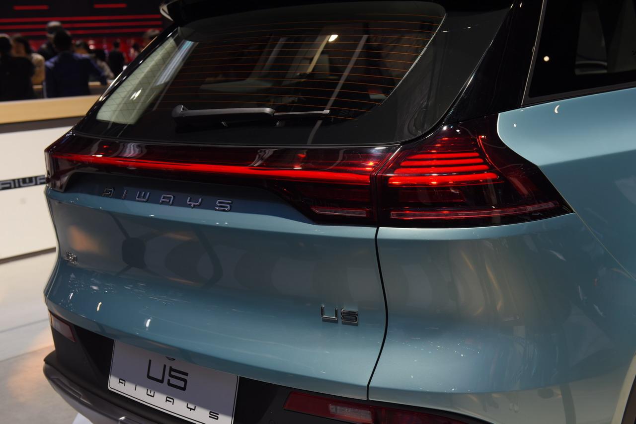 2019上海车展实拍:爱驰U5 ION新能源