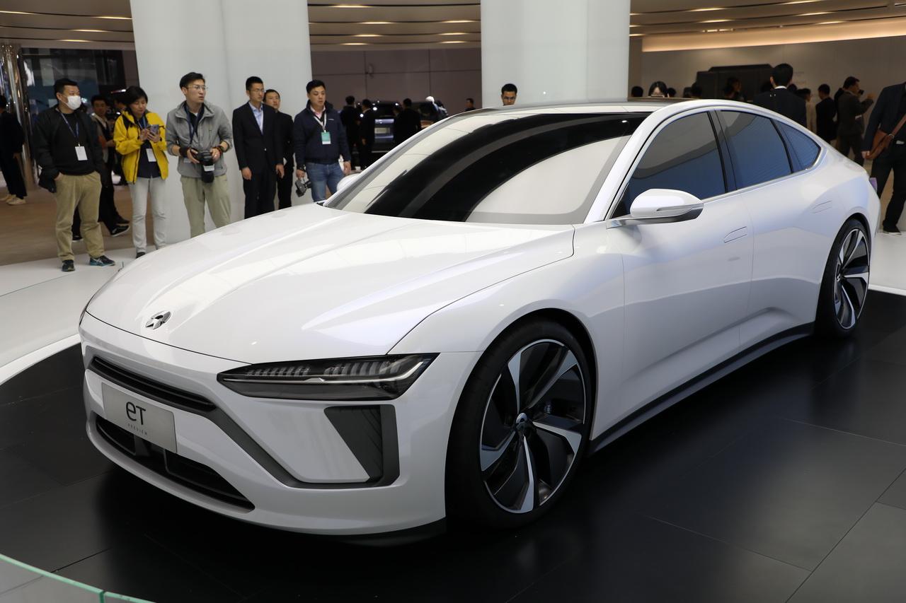 2019上海车展实拍:蔚来ET新能源