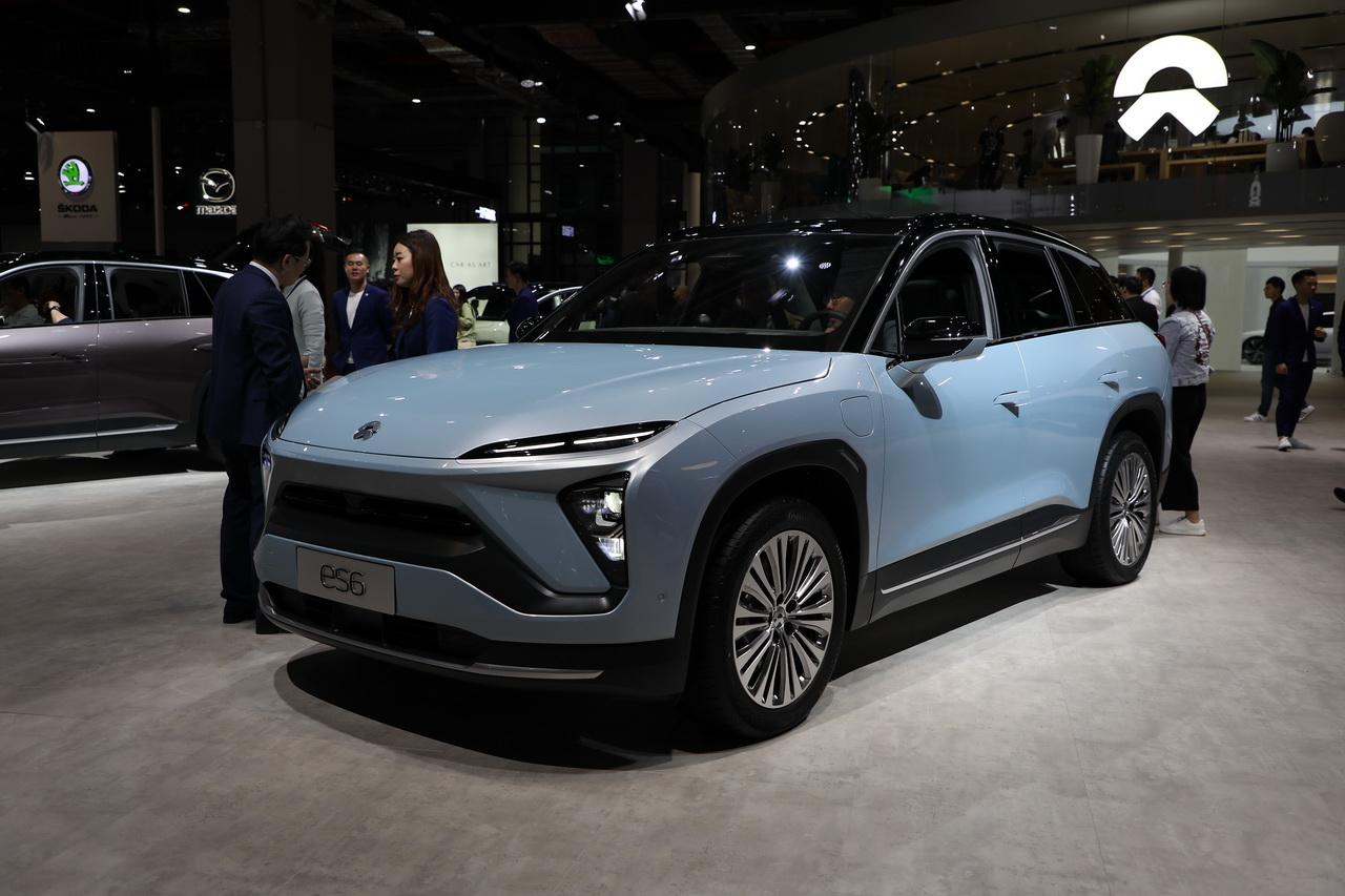 2019上海车展实拍:蔚来ES6新能源