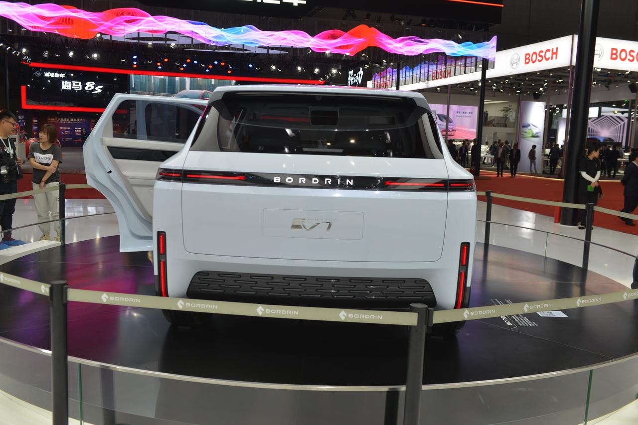 2019上海车展实拍:博郡iV7新能源