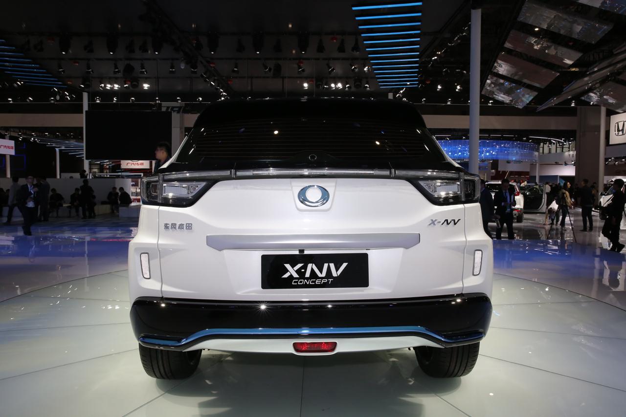 2019上海车展实拍:X-NV新能源
