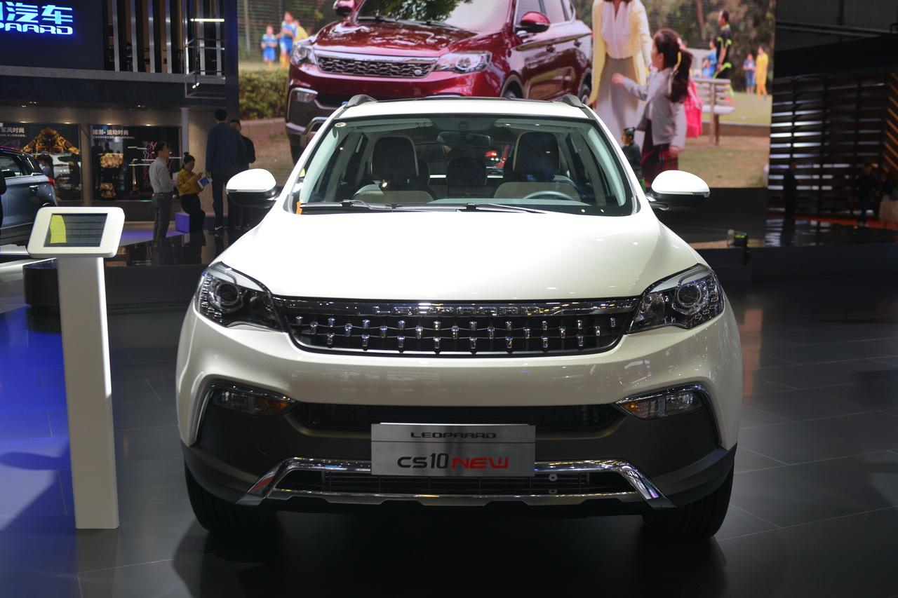 2019上海车展实拍:猎豹CS10