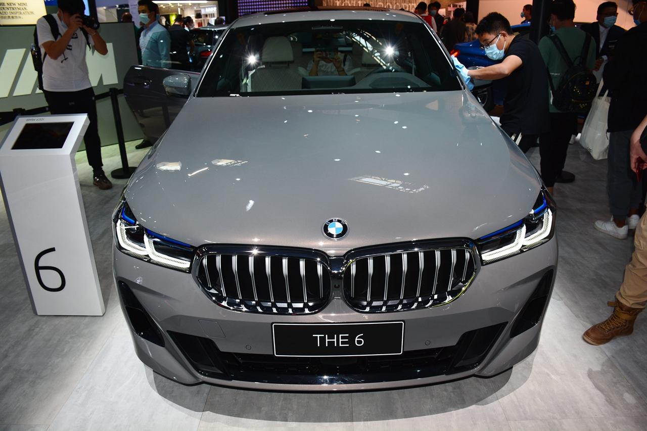 2020北京车展实拍:宝马6系GT