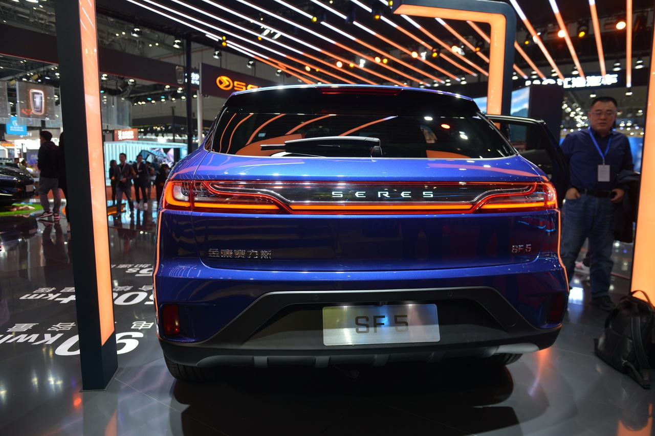 2019上海车展实拍:SERES SF5新能源