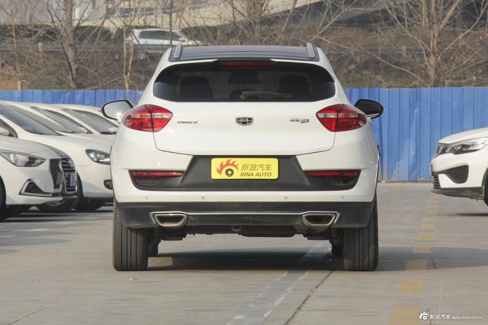 有颜值还有料,内外兼修的吉利汽车吉利帝豪GS最高直降1.41万啦!