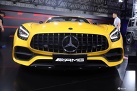 2019成都车展实拍:AMG GT