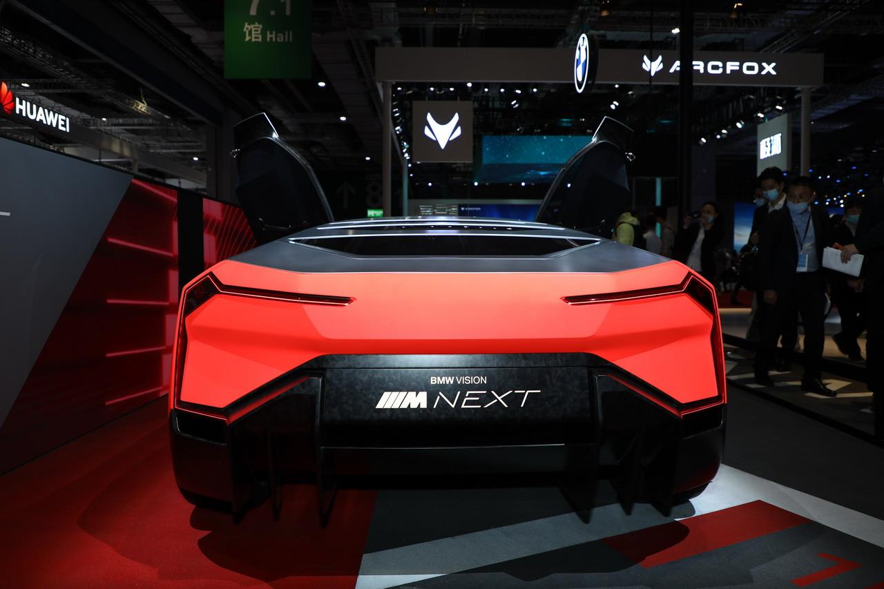 2021上海车展实拍:宝马Vision M NEXT