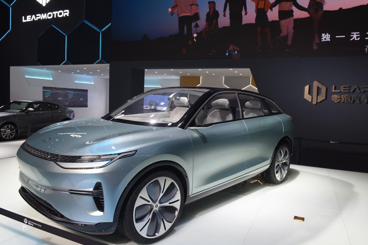 2019上海车展实拍:零跑C-more新能源