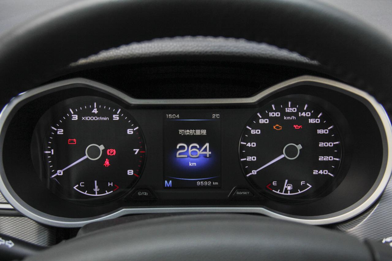 2018款帝豪GS 1.4T手动领尚型运动版