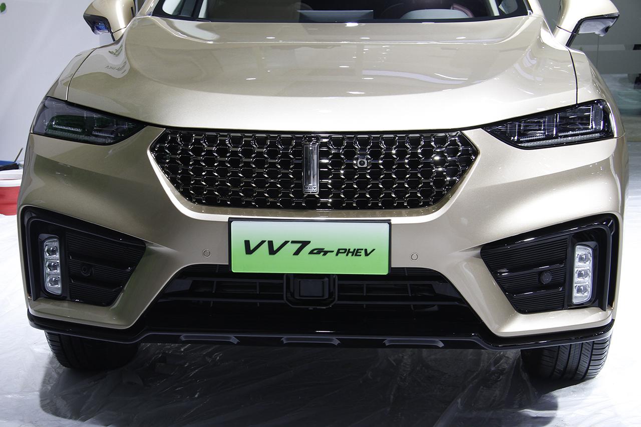 2019成都车展实拍:WEY VV7混动
