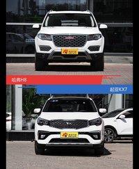哈弗H8和起亚KX7风格这么不同 到底该选谁?