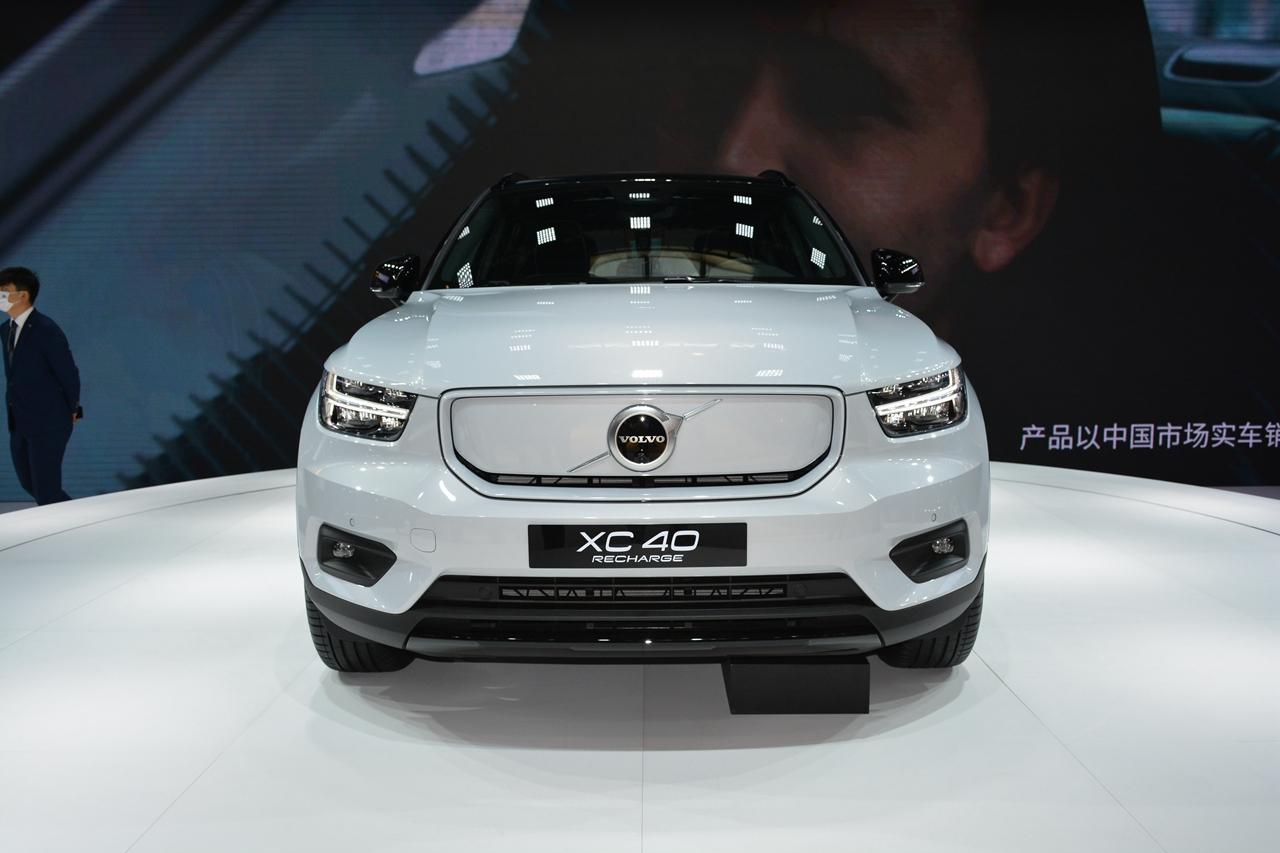 北京车展实拍 国产沃尔沃XC40纯电