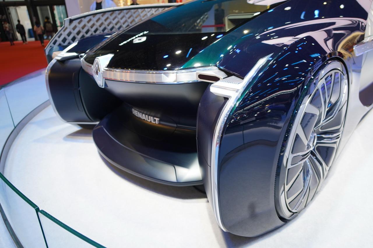 2019上海车展实拍:雷诺EZ-ULTIMO
